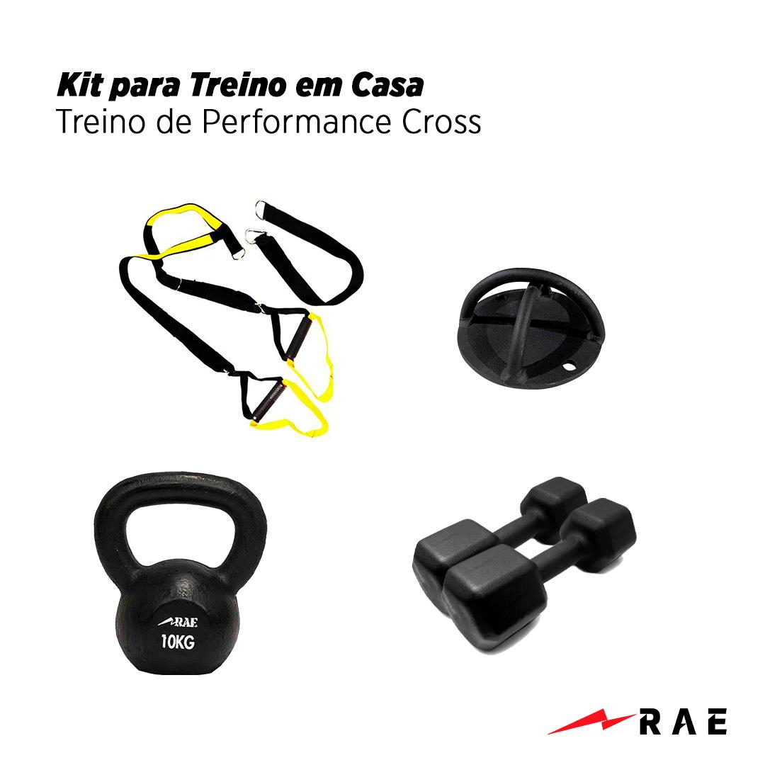 Kit para Treino em Casa - Treino de Performance Cross - Rae Fitness