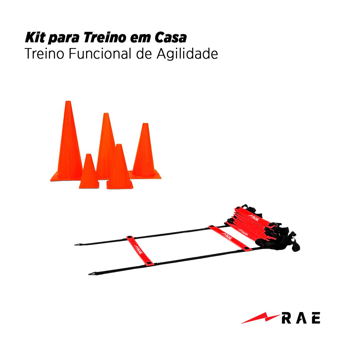 Kit para Treino em Casa - Treino Funcional de Agilidade - Rae Fitness