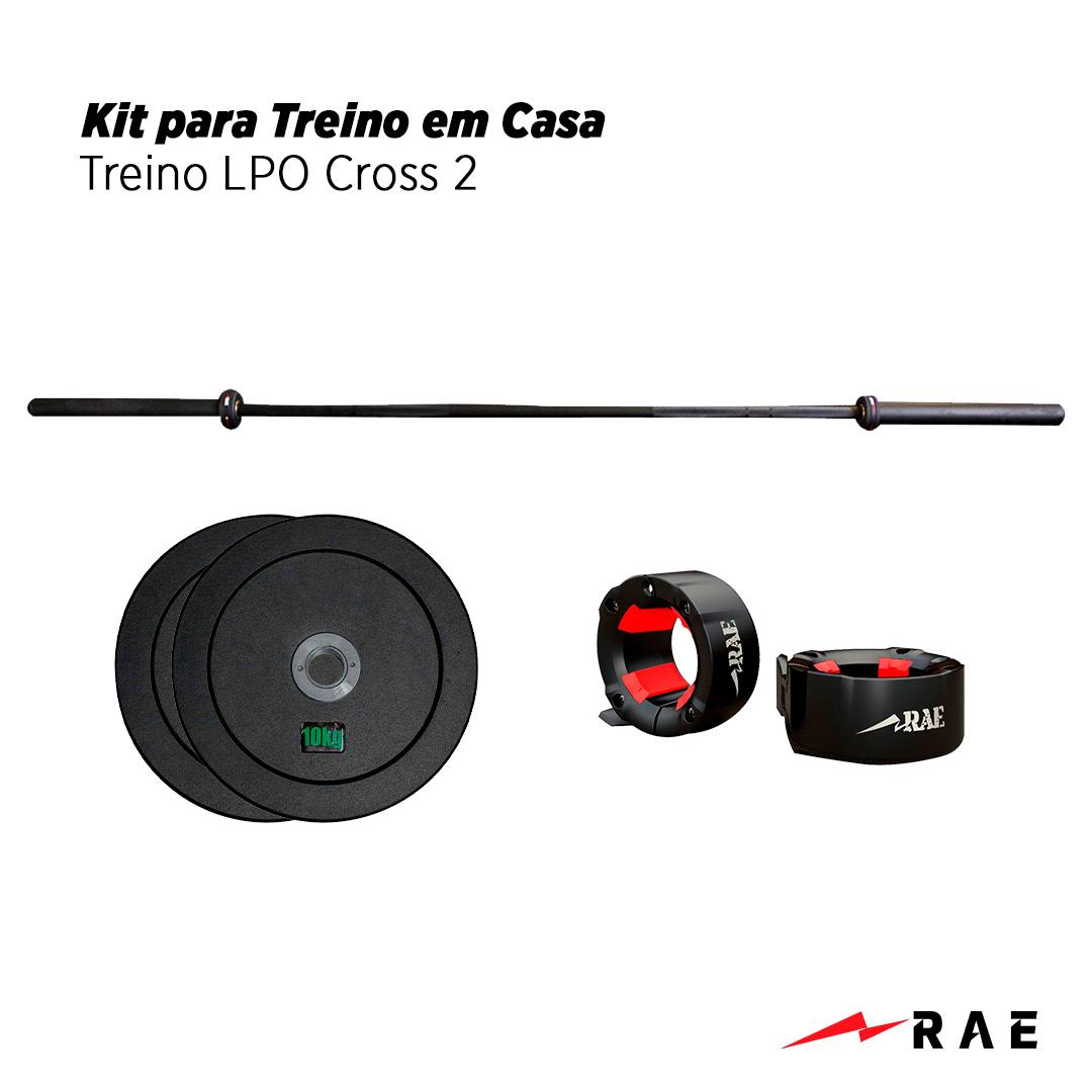Kit para Treino em Casa - Treino LPO Cross 2 - Rae Fitness