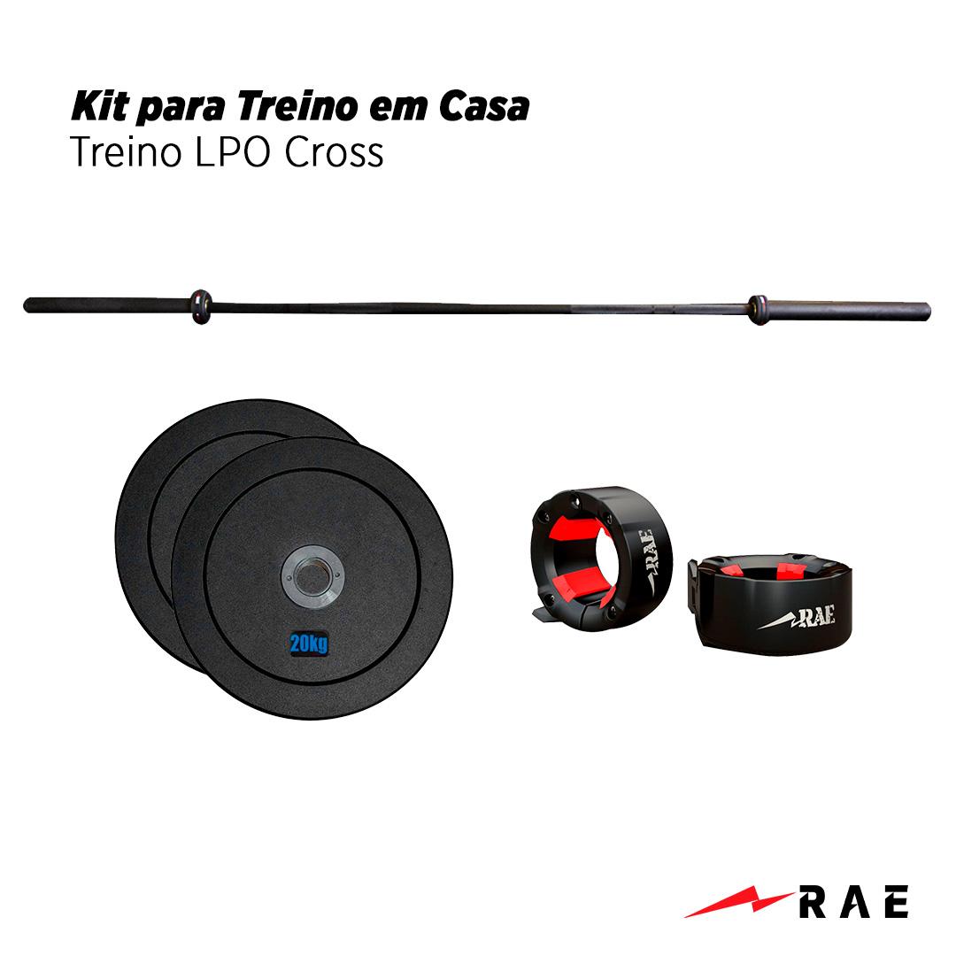 Kit para Treino em Casa - Treino LPO Cross - Rae Fitness