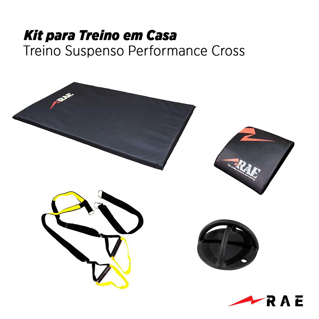 Kit para Treino em Casa - Treino Suspenso Performance Cross - Rae Fitness
