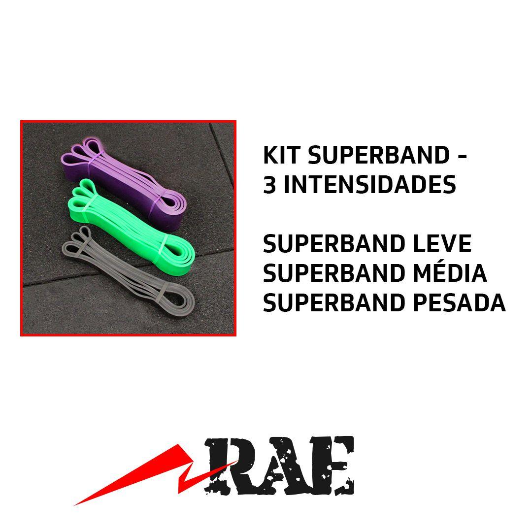 KIT SUPERBAND - COM TRÊS INTENSIDADES
