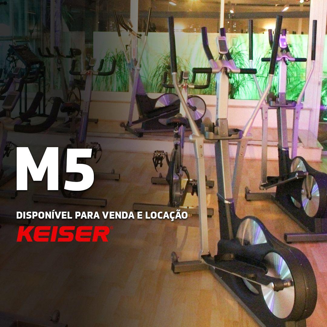 Locação - Elíptico Keiser M5 - 2 MESES - EXCLUSIVO SP