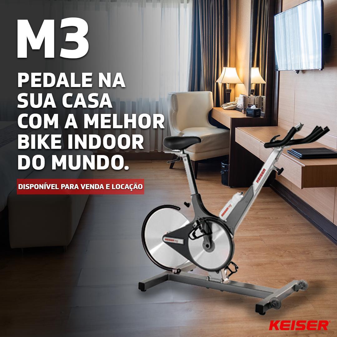 Locação KEISER - Bike M3 - 3 MESES - EXCLUSIVO SP