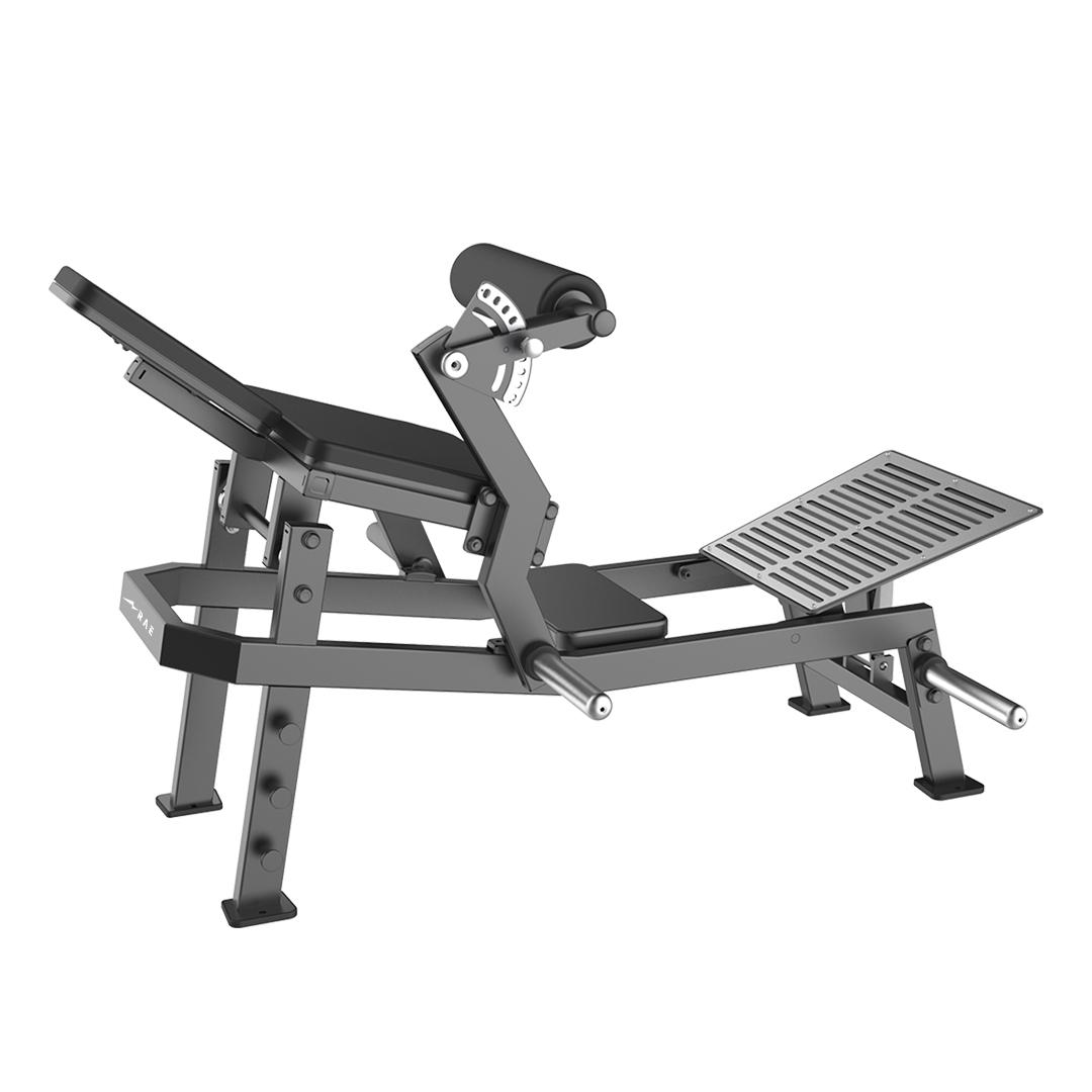 Máquina de Força Profissional - Gluteo Articulado Epic - Rae Fitness