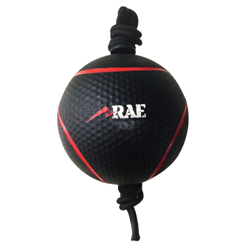 Bola Emborrachada para Treinamento Funcional - Medicine Ball com Corda - Rae Fitness