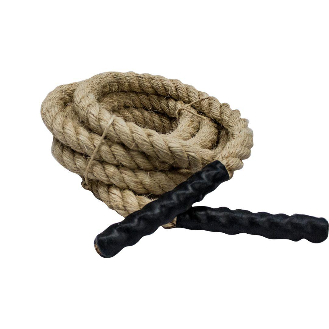 Corda Naval Sisal Seminova para Exercícios de Escalada 6m - Rae Fitness