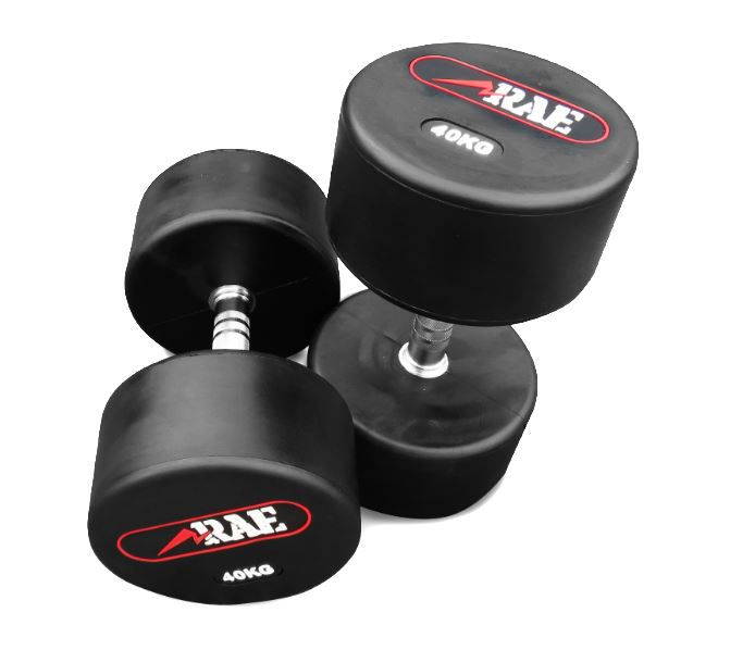 OUTLET - DUMBELL DE BORRACHA RAEFIT