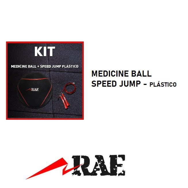 OUTLET  - KIT MEDICINE BALL +  SPEED JUMP ROPE