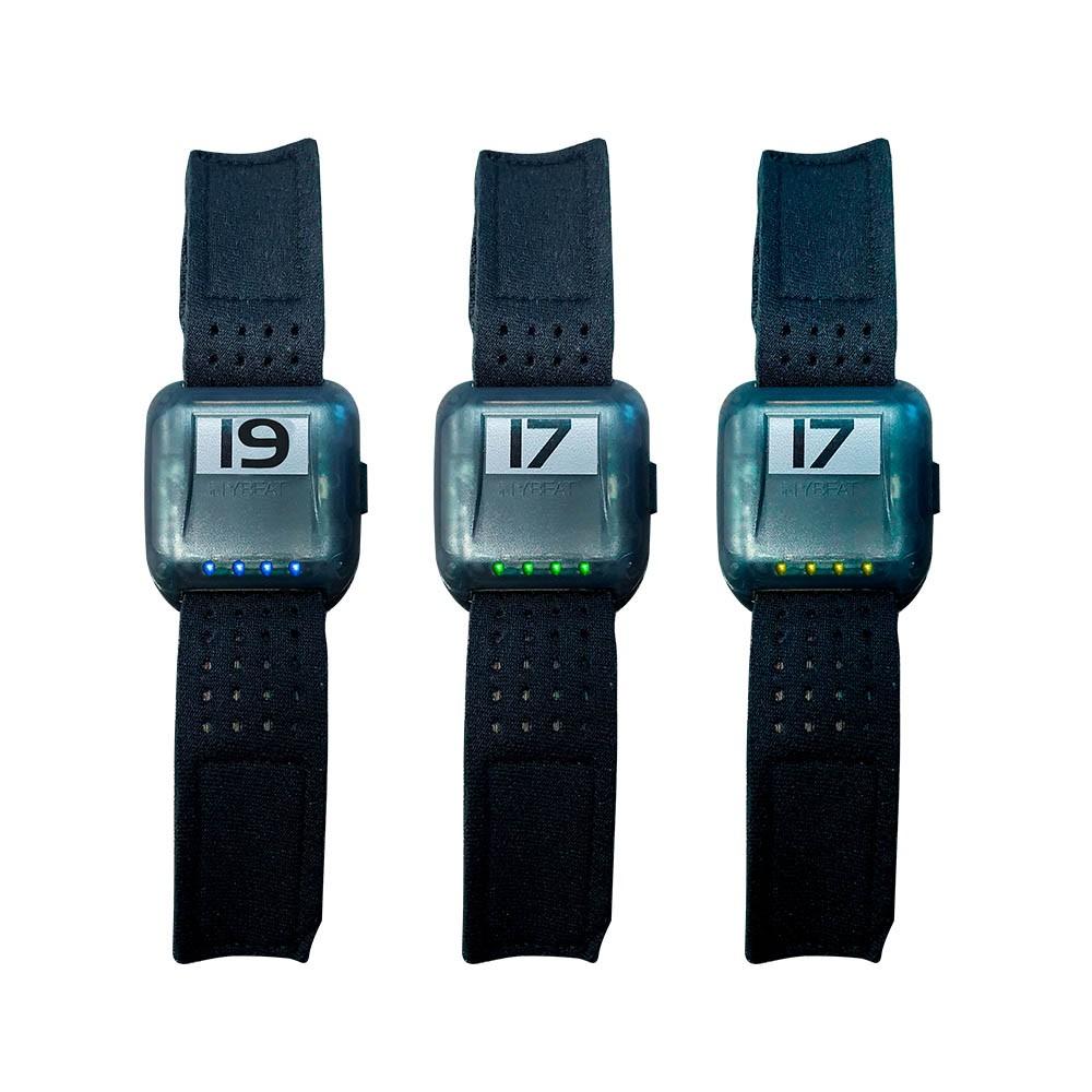 Pacote com 20 Monitores de Frequência Cardíaca - Braceletes My Beat 2.0 - Rae Fitness
