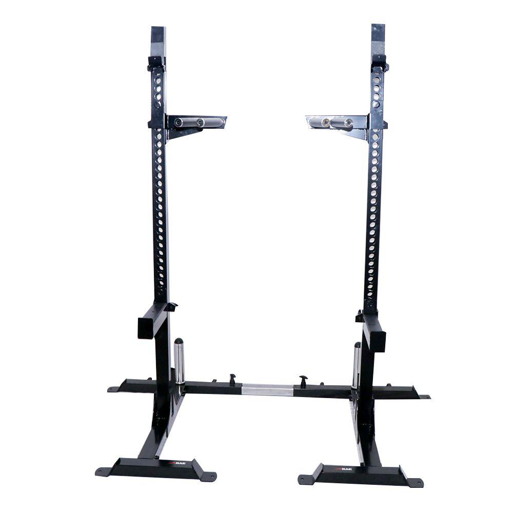 Rack de Agachamento Ajustável Profissional - Rae Fitness