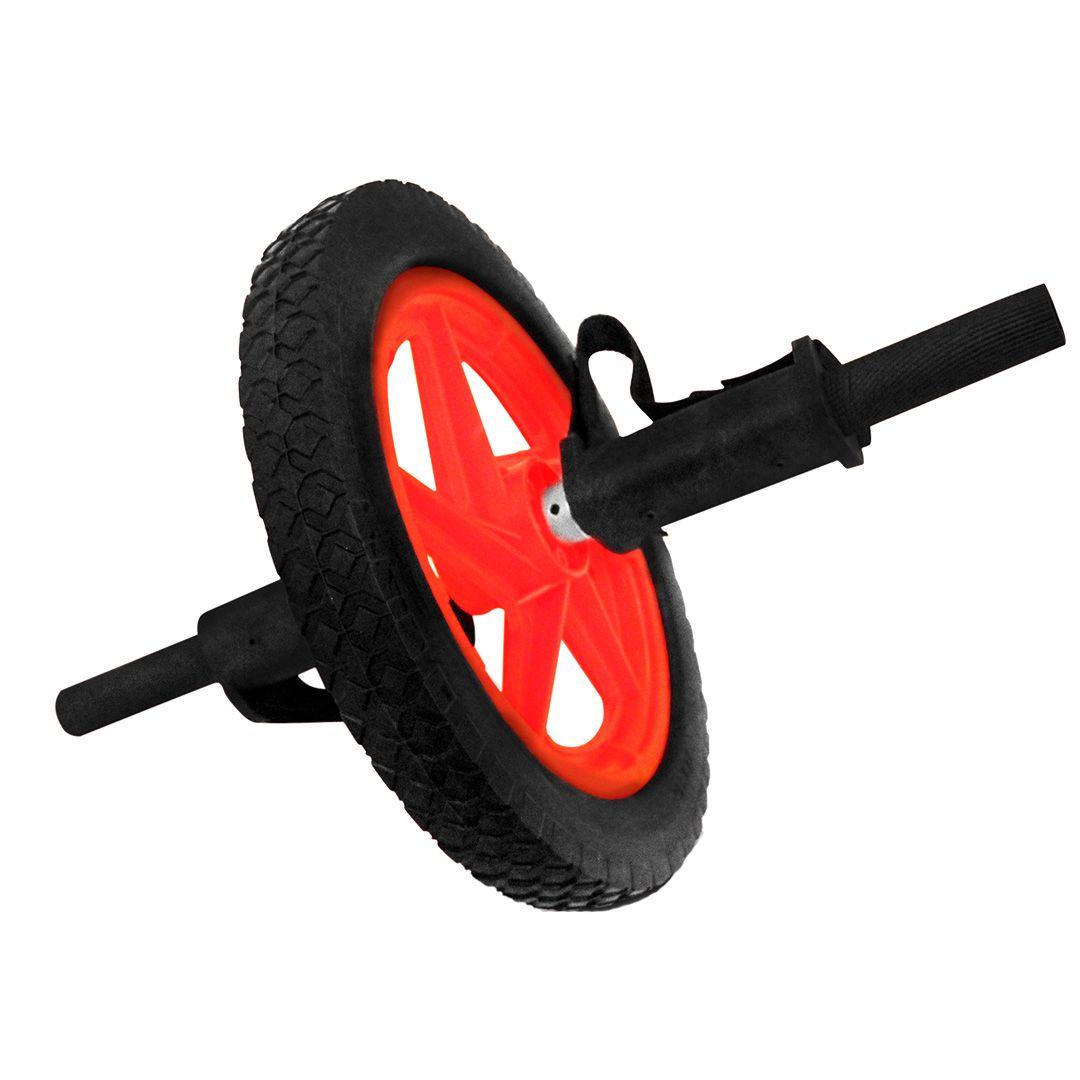 Roda Multifuncional para Exercícios Abdominais com Apoio para Pés e Mãos - Rae Fitness