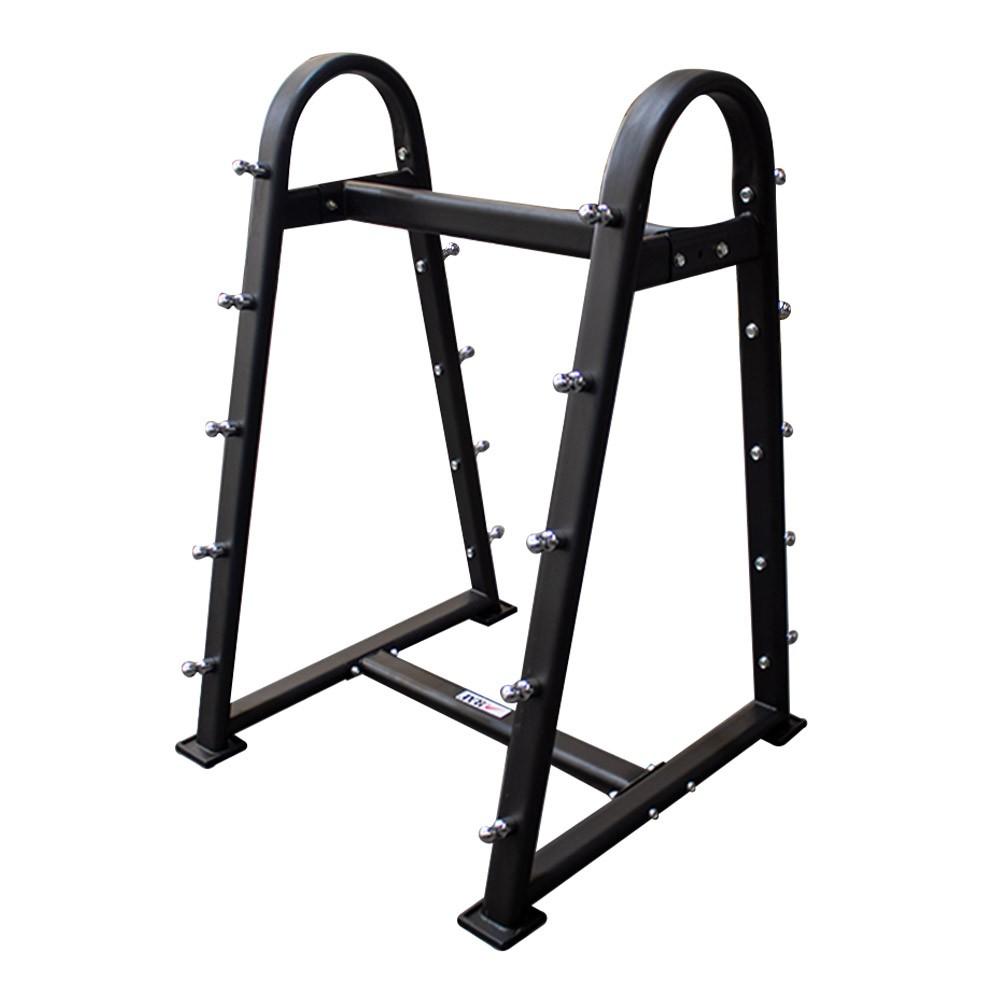 Suporte Expositor para 10 Barras Montadas - Rae Fitness