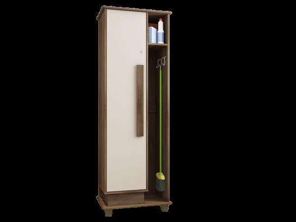 Armário Multiuso Bérgamos 1 porta c/ suporte metálico - RV Móveis