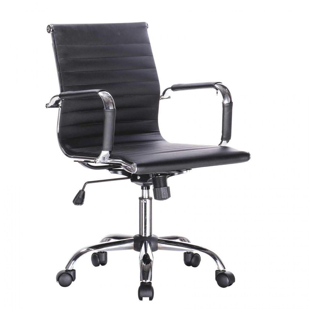 Cadeira Bulk Continental Diretor Office Preta