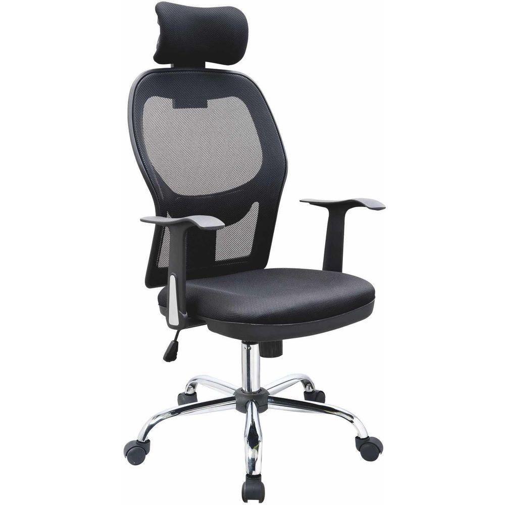 Cadeira Bulk Continental Presidente Comfort Plus Preta