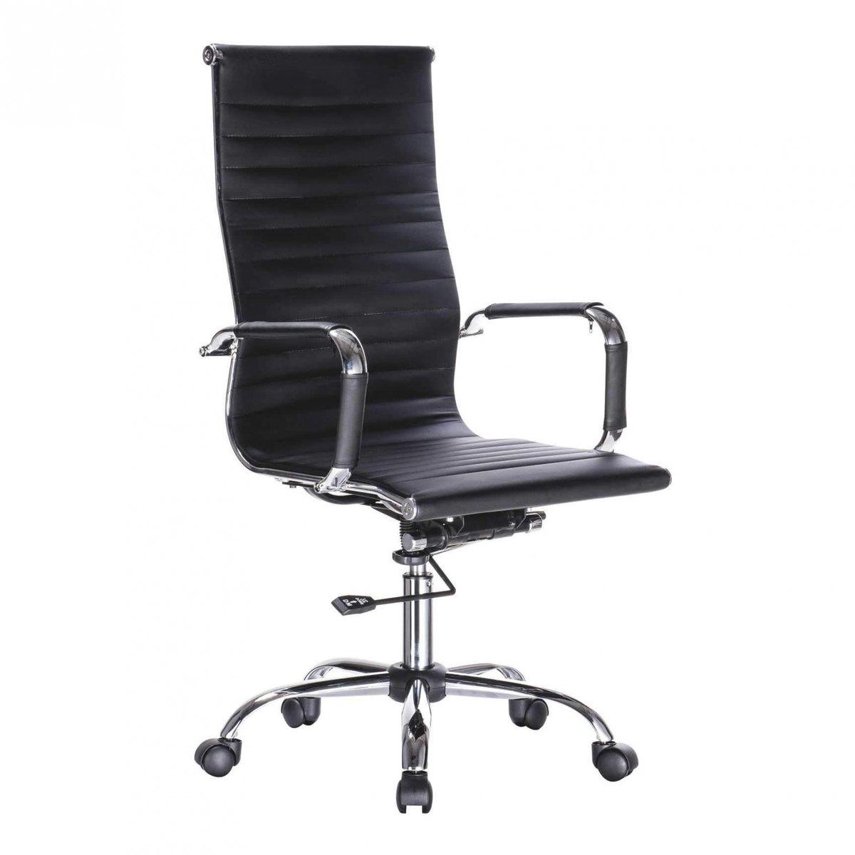 Cadeira Bulk Continental Presidente Office Preta