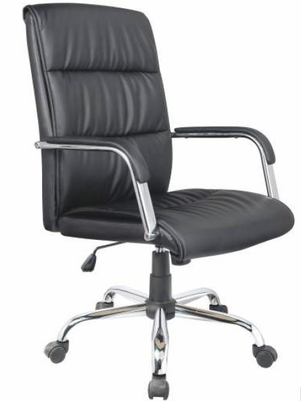 Cadeira Bulk Continental Presidente Prime Preta