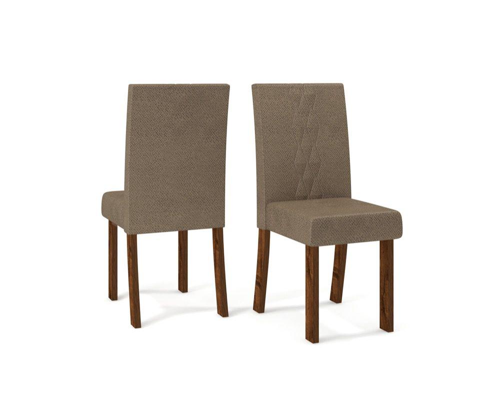 Cadeira Elis estofada - DJ Móveis