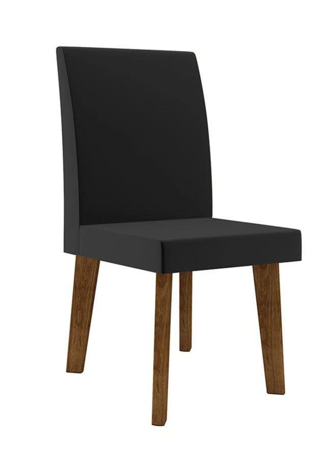 Cadeira Jade pés oblongo - RV Móveis
