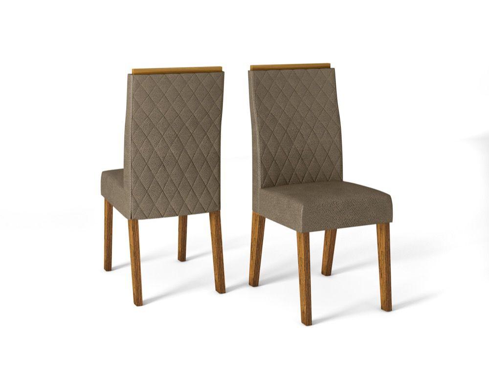 Cadeira New Maia estofada - DJ Móveis