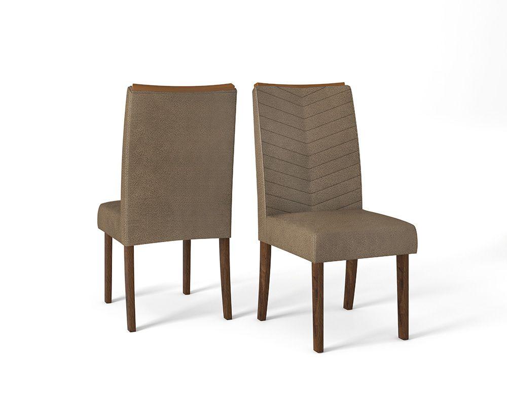 Cadeira Serena estofada - DJ Móveis