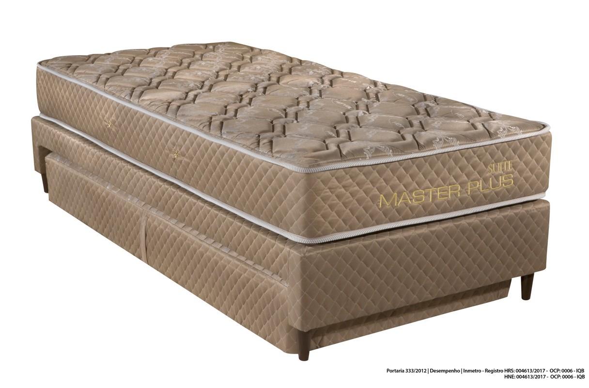 Colchão Box Solteiro Suite Master 25x88x188 Malha - Herval