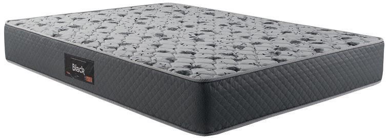 Colchão de Espuma Black Queen 25x158x188 tecido bordado - Herval