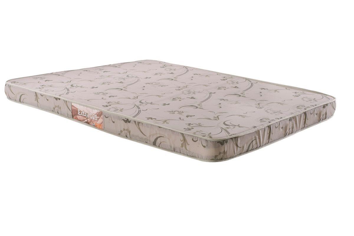 Colchão de Espuma Extra D23 Casal 14x138x188 tecido liso - Herval