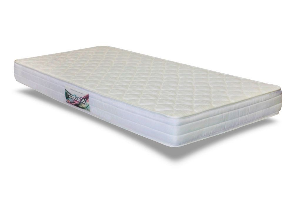 Colchão de Espuma Frontier Solteiro 20x88x188 tecido bordado - Herval