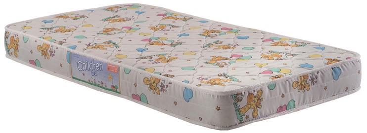 Colchão de Espuma para Berço Americano 70x130 tecido bordado - Herval