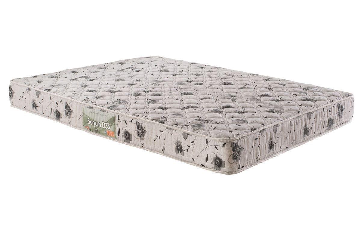 Colchão de Espuma Sonum D23 Viúva 17x128x188 tecido bordado - Herval