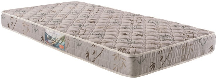 Colchão de Espuma ST. Louis D28 Solteiro menor 14x78x188 tecido bordado - Herval