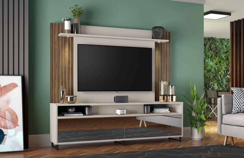 Home NT 1080 2 gavetas 1 prateleira - Notável Móveis