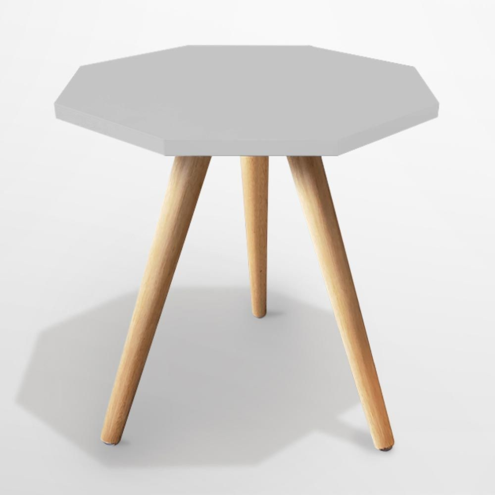 Mesa de canto Octa G 25mm de espessura gris - Manfroi