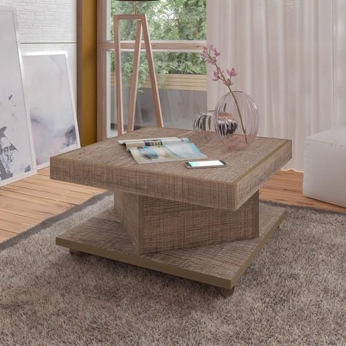Mesa de centro Saara com rodízios - Artely