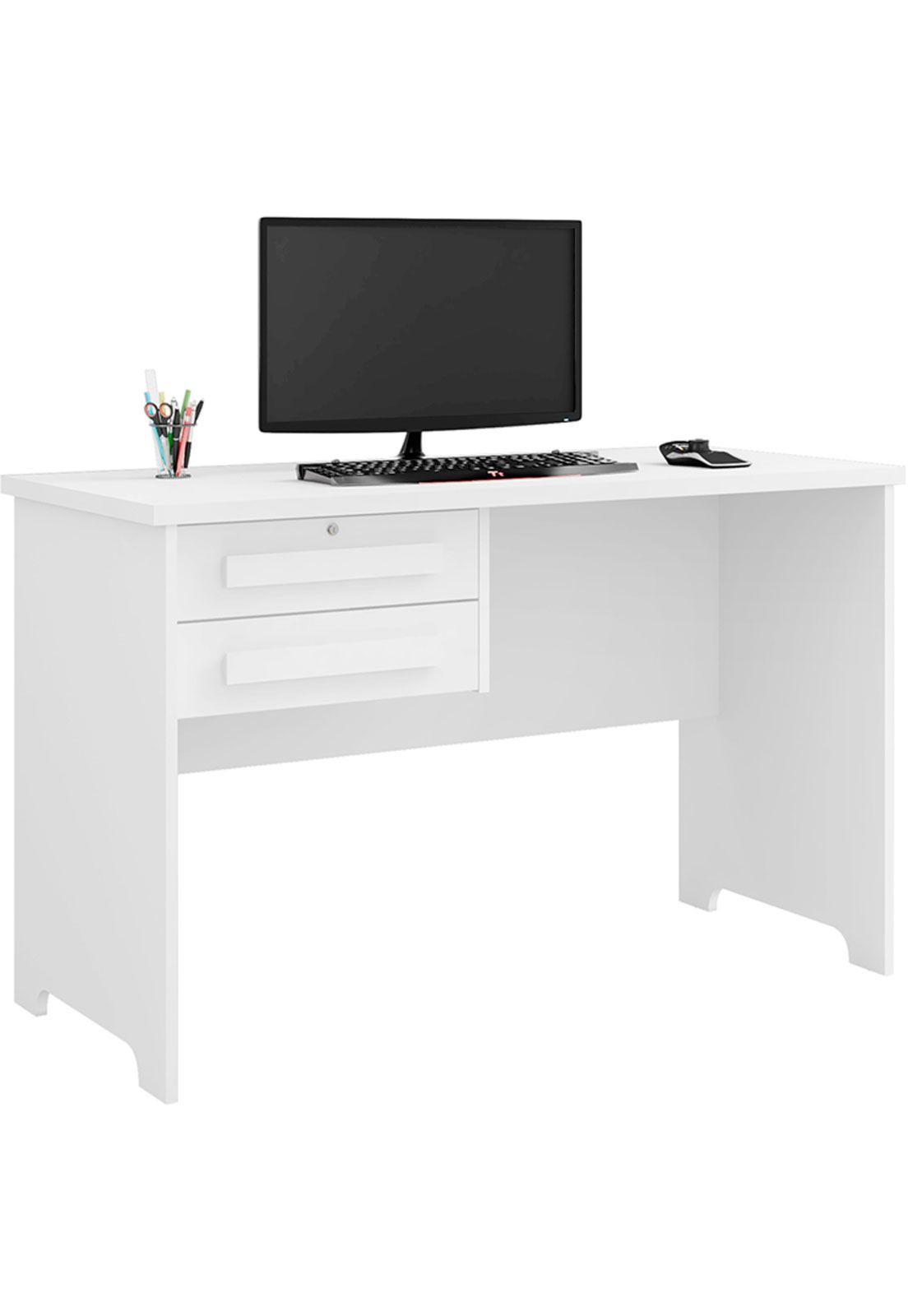 mesa de escritório Alemanha II 2 gavetas - RV Móveis