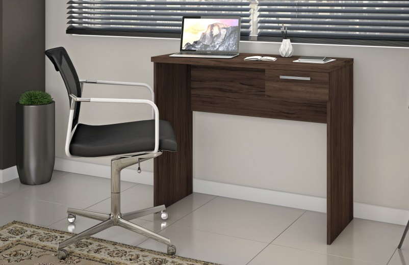 Mesa Office NT 2000 1 gaveta - Notável Móveis