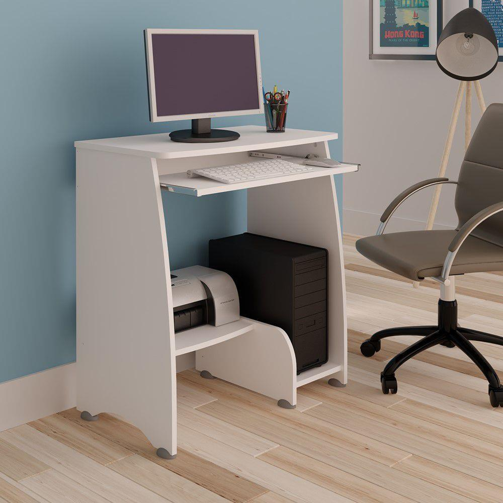 Mesa para Computador Pixel com corrediça metálica - Artely