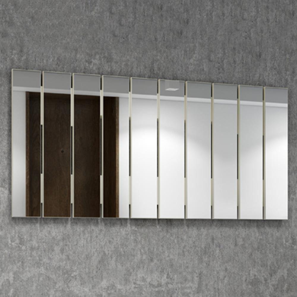 Painel decorativo espelhado barra vertical - Dalla Costa