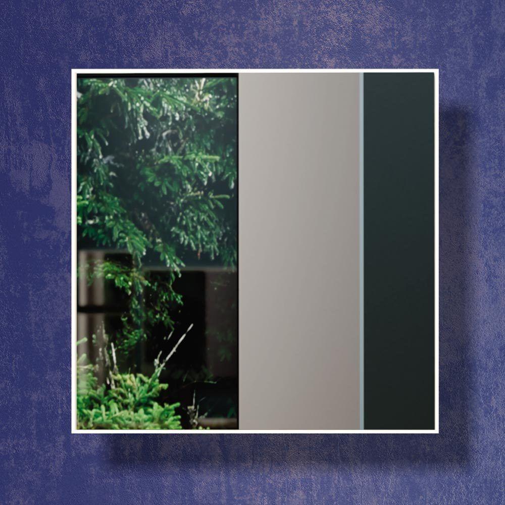 Painel decorativo espelhado quadrado 30 x 30 x 3 - Dalla Costa