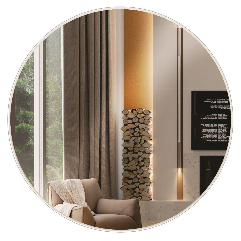 Painel decorativo espelhado redondo Ø 30 x 3 - Dalla Costa