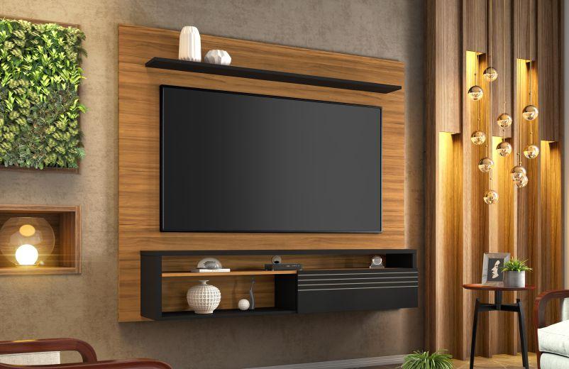 Painel NT 1100 c/ porta basculante - Notável Móveis