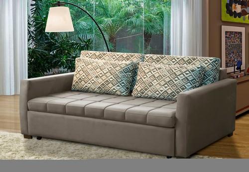 Sofá-cama Smart 93x1008x1620 - Temda