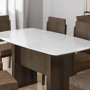 Tampo Europa 1670MM X 900MM X 8MM branco clean - RV Móveis