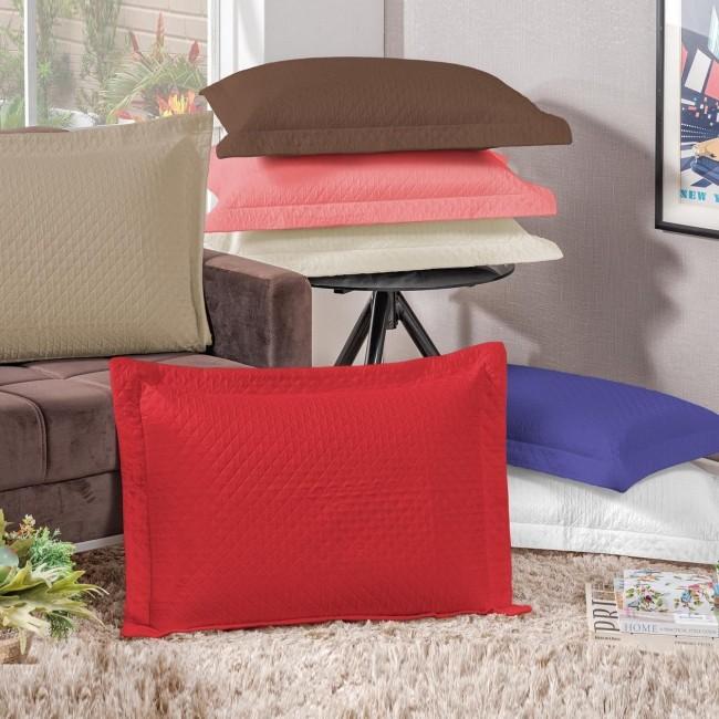 Porta Travesseiro Microcolor 1 Peça - Micromatelado