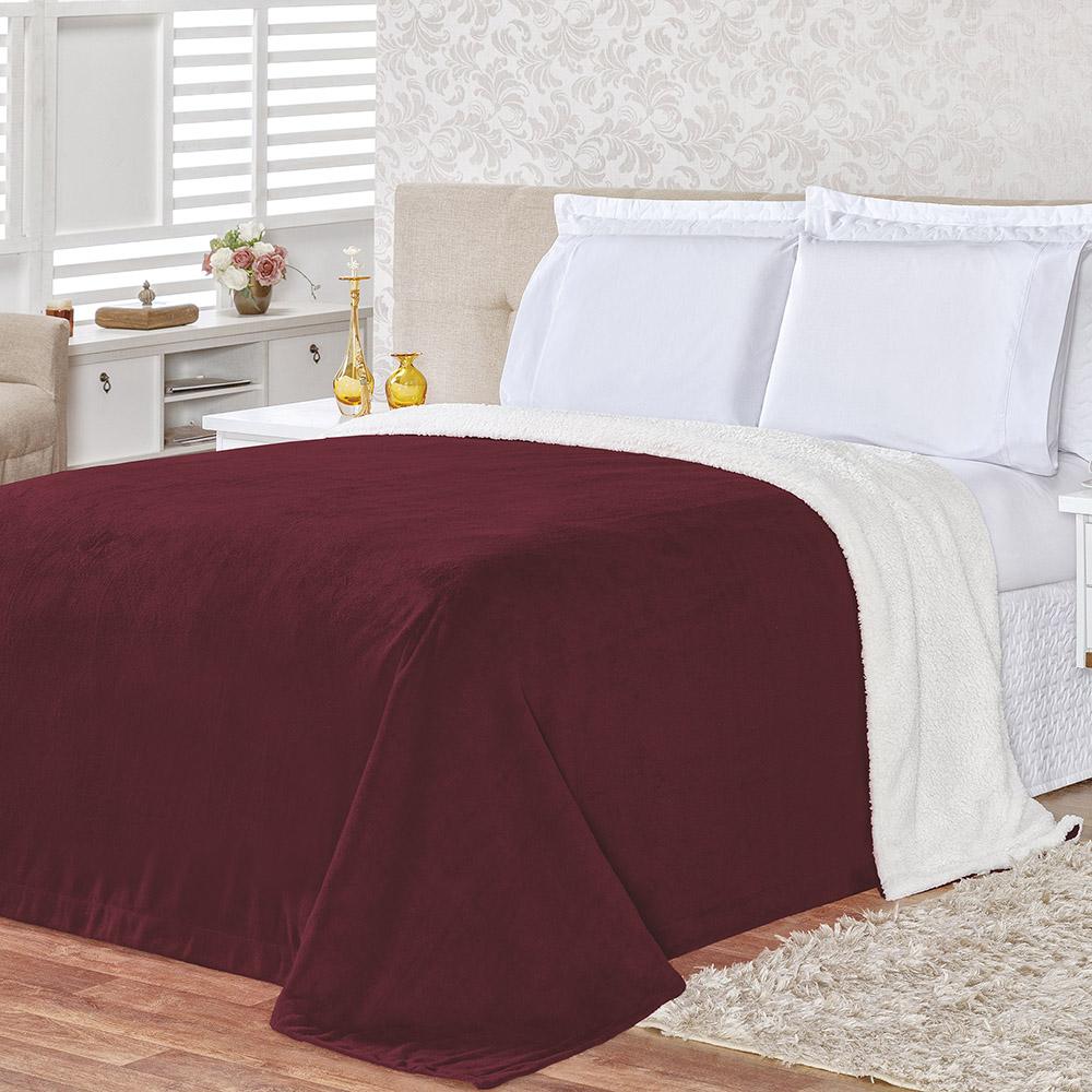 Cobertor Alaska Casal Queen 01 Peça - Manta Flannel