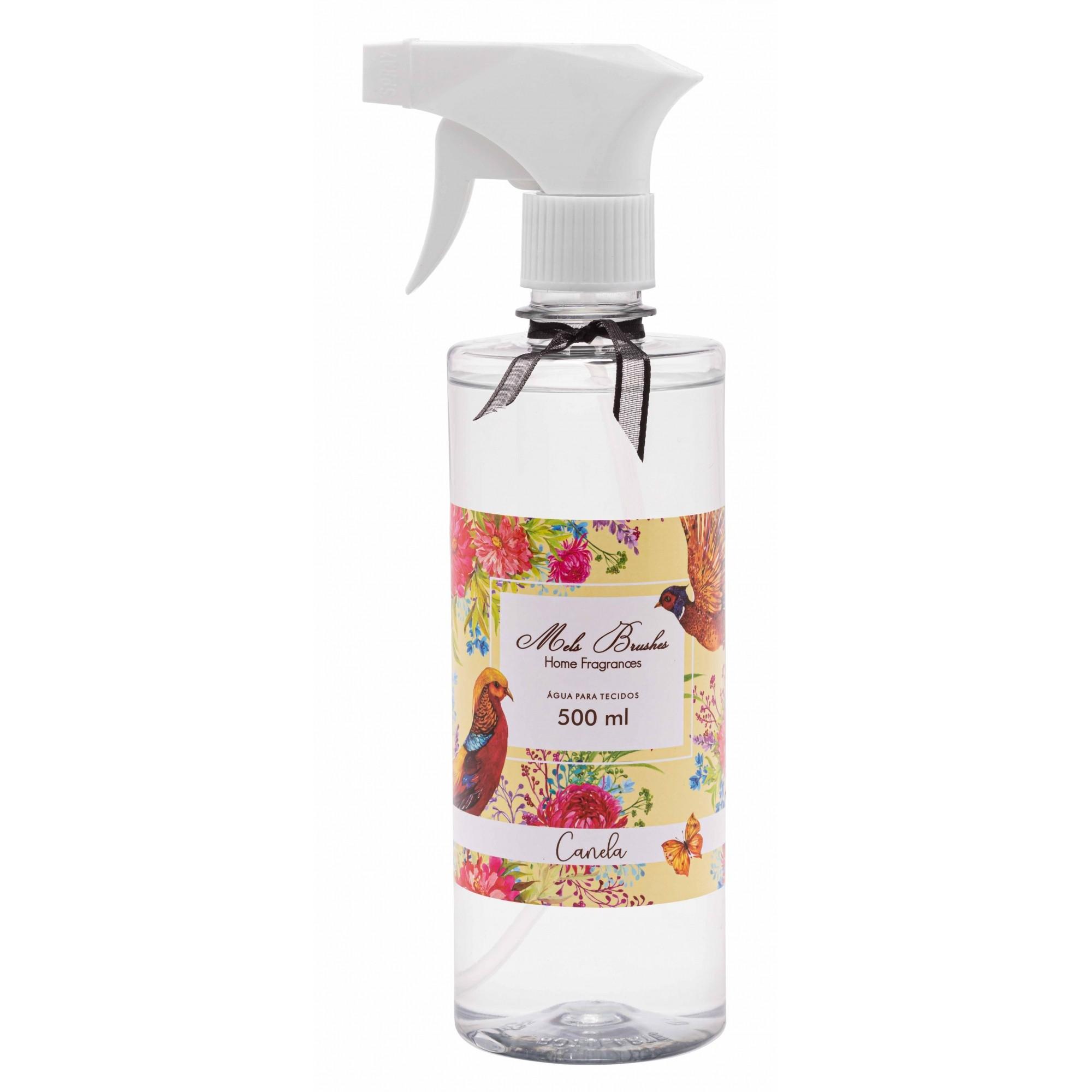 Água Perfumada para Tecidos Canela 500 ml