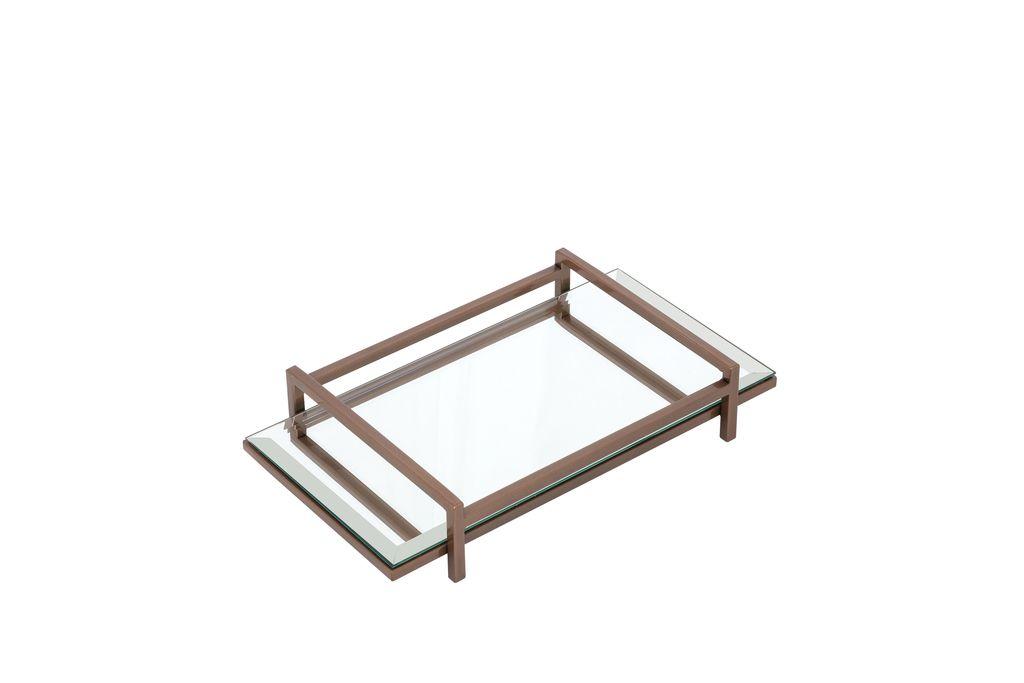 BANDEJA METAL PEQUENA - 30X17X5,5 cm
