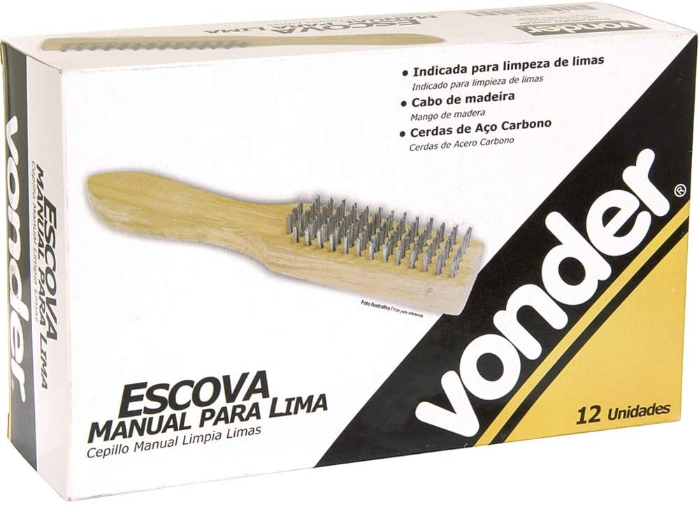 12565 - ESCOVA MANUAL ACO P LIMA VONDER